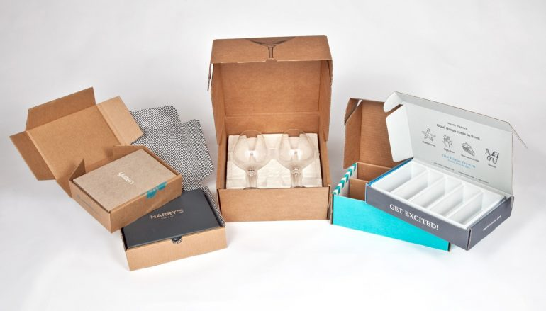 Provide extra safety to the product with a corrugated box: